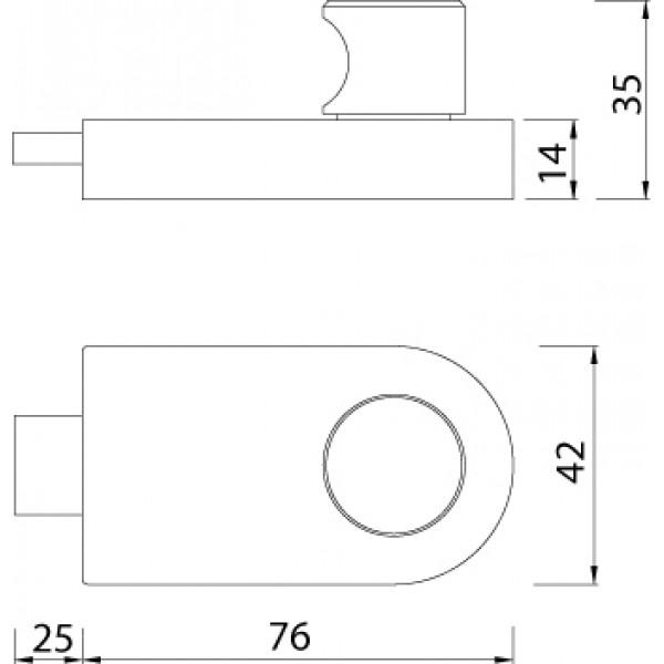 Stainless Steel Indicator Bolt